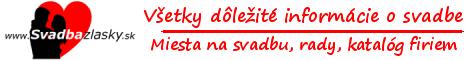 Svadbazlasky.sk - nový svadobný portál